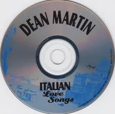 copertina cd dean martin italian songs cd cover cd dean