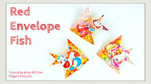 new year envelopes new year crafts envelope fish 紅包魚 easy paper