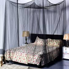 4 corner post full queen king size bed mosquito net bedding