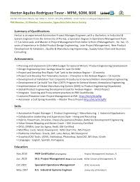 Sample Resume Engineer by Download Automotive Test Engineer Sample Resume