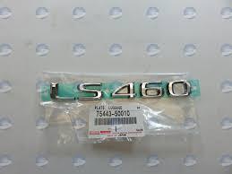 lexus emblem replacement lexus oem 7544350010 07 12 ls460 trunk lid emblem badge nameplate