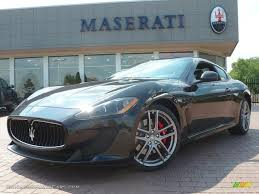 maserati coupe 2012 2012 maserati granturismo mc coupe in nero carbonio black