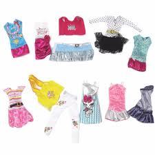 aliexpress com buy 10 sets fashion cloth barbie dolls for girls