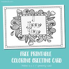 coloring page printable digital thank you card and book