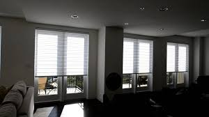 motorized illusions transitional shades from budget blinds of park