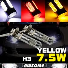 yellow h3 led fog light bulbs promotion shop for promotional