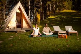 A Frame Designs by Gorgeous U201cglamping U201d Eco Cabins Help You Reconnect With Nature In