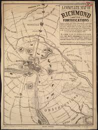 Map Of Richmond Virginia by File A Complete Map Of Richmond And Its Fortifications Within A