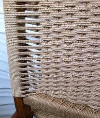 danish cord chair seat weaving pattern from modernchairrestoration