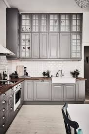 ideas for grey kitchen cabinets 40 and welcoming grey kitchens for your home