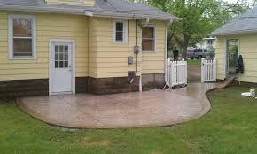 Cement Patio Sealer Backyard Sealing Stamped Concrete Patio Stamped Concrete Outdoor