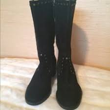 ugg s madelynn boots black hp freebird by steve brock boot otk grey nwt boutique