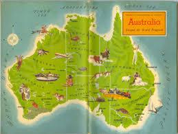 Map Book Australia American Geographical Society Around The World Program
