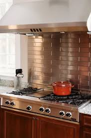 How To Decorate Stainless Steel Stainless Steel Kitchen Backsplash Decor Donchilei Com