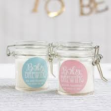 favor jars personalized glass baby shower favor jars