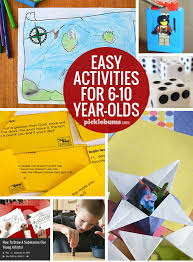 ten easy activities for 6 10 year olds 10 years activities and