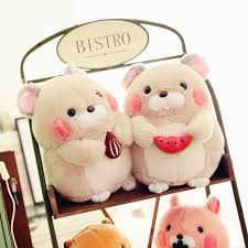 creative educational mouse toys marmot plush doll ornament high
