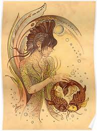 zodiac posters the pisces protective angel for zodiac sign posters by