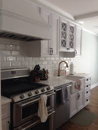 kitchen renovation cobsa spanish tile backsplash bianca rhino