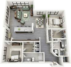 Floor Plan 2 Bedroom Apartment 3d 2 Bedroom Apartment Floor Plans Yahoo Image Search Results