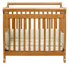 Mini Baby Crib Davinci Emily 2 In 1 Mini Crib And Bed In Honey