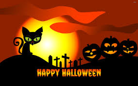 cartoon halloween background happy halloween 695683 walldevil