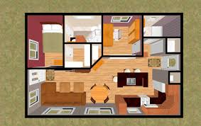 small open bedroom with kitchen pics plan living floor plans