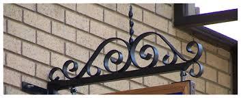ornamental brackets