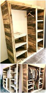 best 25 pallet wardrobe ideas on pinterest pallet closet