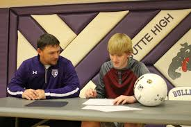 Letter Of Intent To Purchase Shares by Butte Senior Travis Williams Signs Letter Of Intent To Play At
