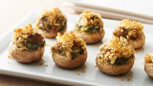 easy stuffed mushrooms recipe pillsbury