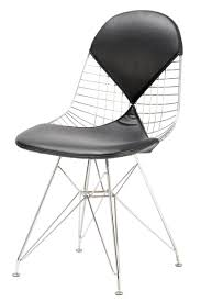 replica charles eames style wire chair 2 piece pad our