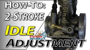 solved what is the correct idle adjustment on a yamaha rt fixya