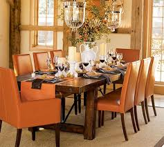 Fantastic Dining Table And Chairs By Carpanelli - Pottery barn dining room chairs