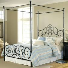 Canopy Bed Frames Canopy Bed Metal Bedroom Impressive Black Metal Canopy Bed With