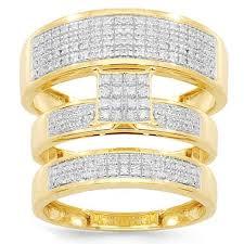 Diamond Wedding Ring Sets by Bridal Ring Sets Wedding Trio Sets Avianne U0026 Co