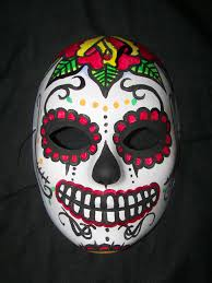 day of the dead masks day of the dead mask by metalreaper101 on deviantart