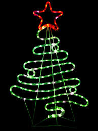 christmas lights net style flowing ribbon style christmas tree led light silhouette 88cm