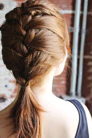 how to i french plait my own side hair how to style a classic french braid a beautiful mess