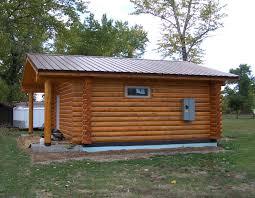 Small Log Home Kits Sale - mountaineer plan 480 sq ft cowboy log homes