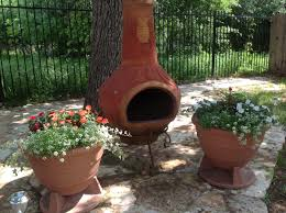 Large Terracotta Chiminea Special Large Clay Chiminea Outdoor Fireplace U2014 Bistrodre Porch