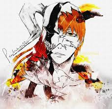 bleach ichigo kurosaki hollow by pearlonthesea on deviantart