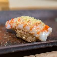 Urban Sushi Kitchen - ama ebi japanese sweet shrimp nigiri sushi 甘えび japanese