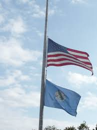 Flying The Flag At Half Staff Seniors Walking Across America Day 243 Waurika Comanche