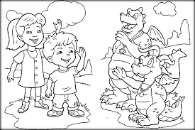 printable dragon tales coloring pages preschoolers color zini