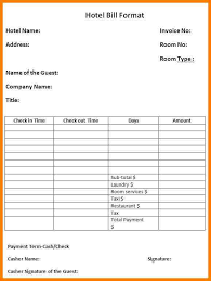 printable bill receipt 10 bill management template sle travel bill