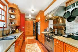 Long Galley Kitchen Classic Leimert Park Spanish Style Asks 899k Curbed La