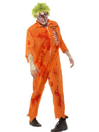 inmate halloween costume zombie death row inmate costume 40054 fancy dress ball