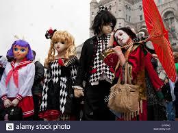 actors wearing anime costumes at the 51st annual sakura matsuri a
