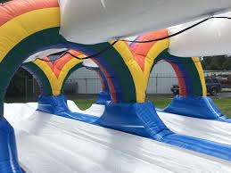 maryland inflatable slip and slide rentals backyardamusements
